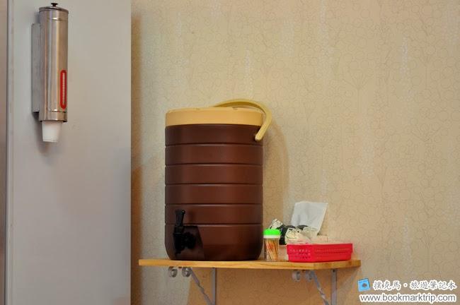 澤川蛋包飯提供免費飲料