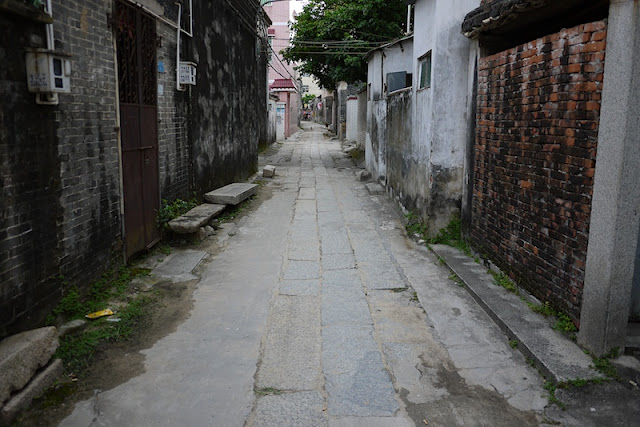 stone lane in Beishan Village, Zhuhai, China