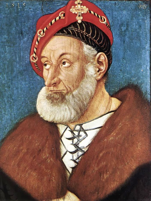 Hans Baldung - Count Christoph I of Baden