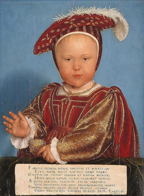 Hans Holbein the Younger - Edward, Prince of Wales, later King Edward VI - Google Art Project
