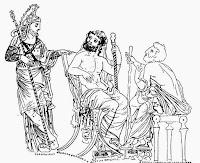 Αιακός,γενάρχης των Ελλήνων Αρίστων της Ολυμπιάδας και του Αλέξανδρου ,βασιλιάς της Αίγινας.