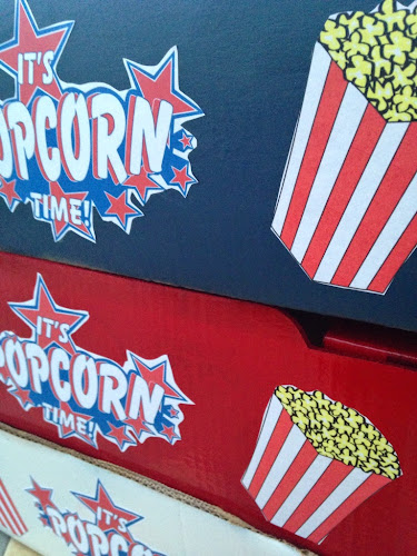 Popcorn vendor tray tutorial, take me out to the ball game