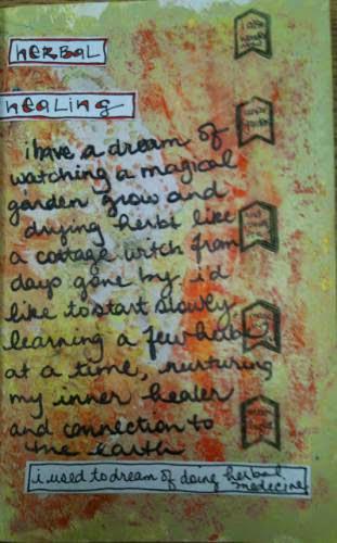 52 Weeks Of Pagan Art Journaling Week 5