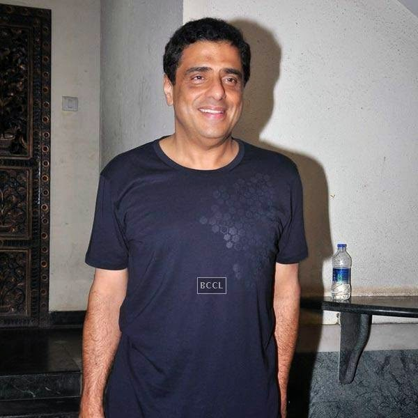 Ronnie Screwvala attends the wrap-party of Bollywood movie Mary Kom, held at Sanjay Leela Bhansali's residence on July 26, 2014.(Pic: Viral Bhayani)