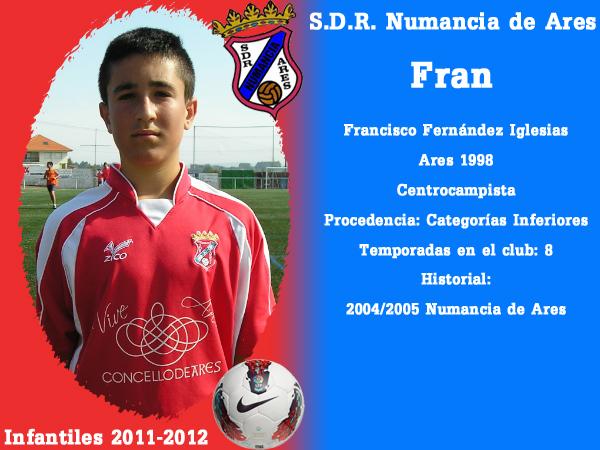 ADR Numancia de Ares. Infantís 2011-2012. FRAN.