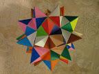 "Spiked Pentakis Dodecahedron from Meenakshi Mukerji's ""Marvelous Modular Origami""."