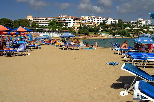 пляж кораллия, пейя, кипр, пафос, море, пляж