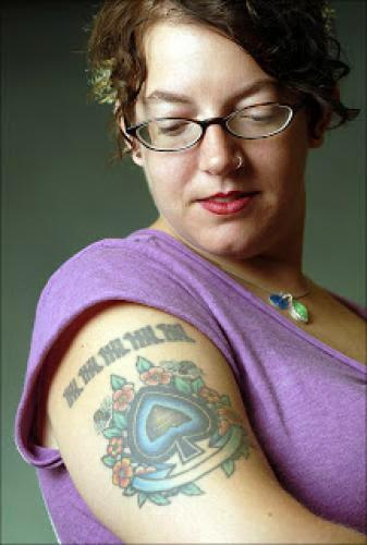 Women Shrug Off The Tattoo Taboo
