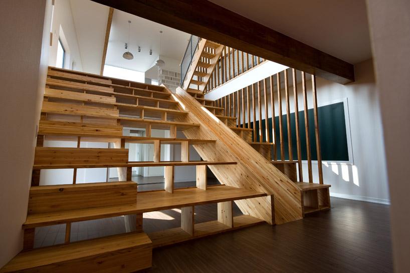 *首爾 Moon Hoon 全景六角形建築設計:溜滑梯+樓梯+書櫃強大結合! 3