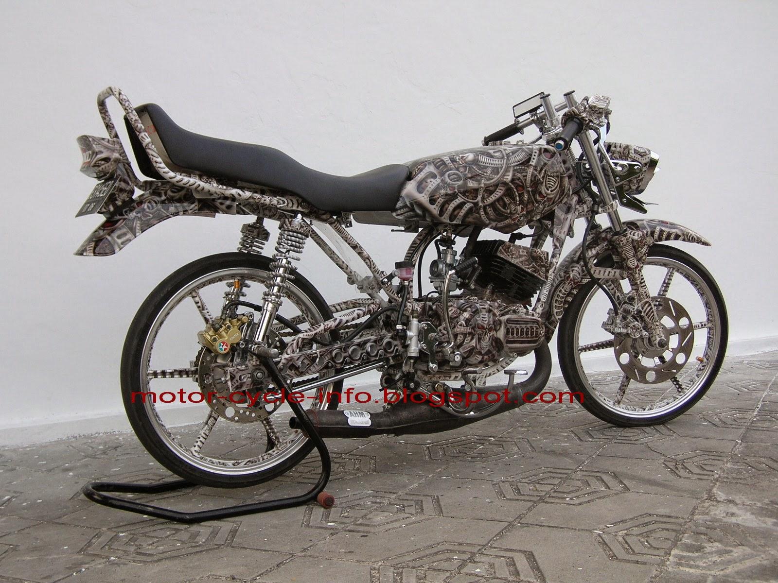 Honda Win Modifikasi Japs Style