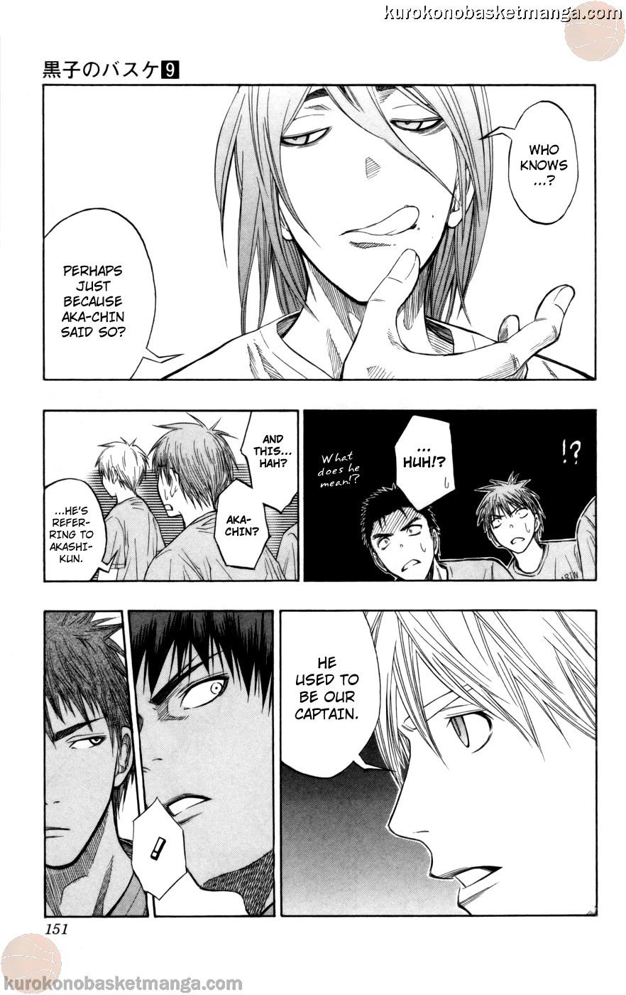 Kuroko no Basket Manga Chapter 78 - Image 05