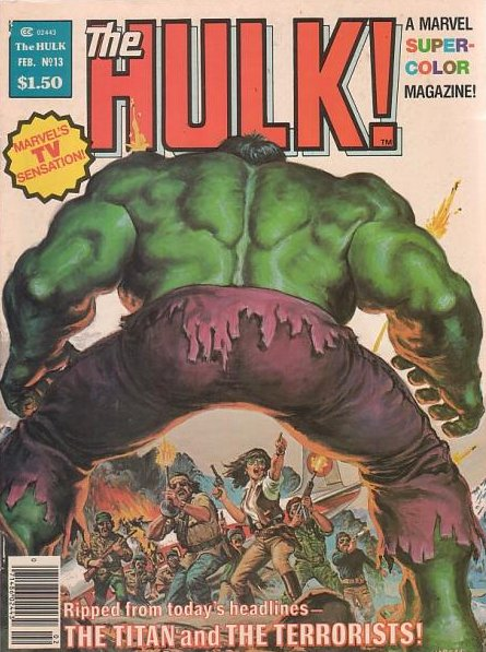 Rampaging Hulk #13 Feb. 1978