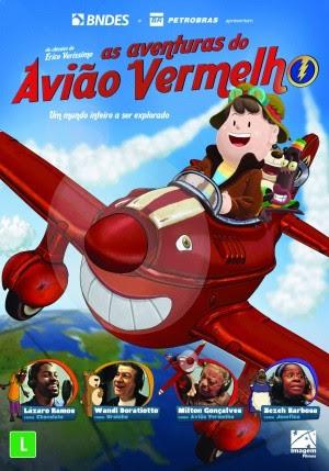 Filme Poster As Aventuras do Avião Vermelho DVDRip XviD & RMVB Nacional