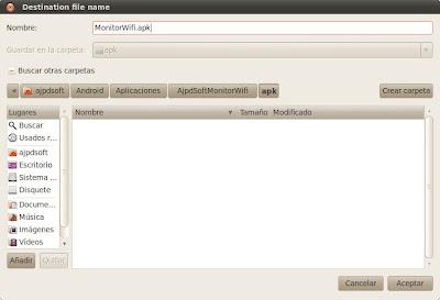 Generar fichero APK con certificado en Eclipse para publicar en Android Market