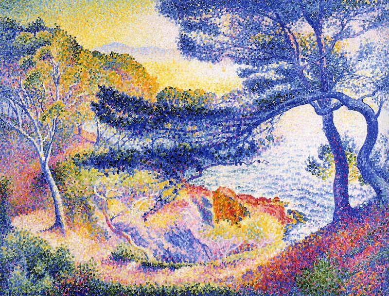 Henri-Edmond Cross - Cape Layet, Provence