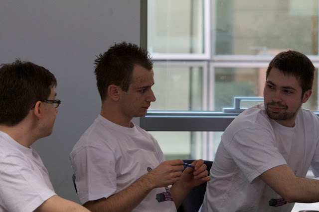 The RGU Team Hard at Work