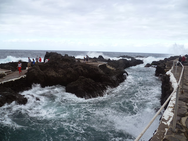 The Lava Rock Pools at Garachico