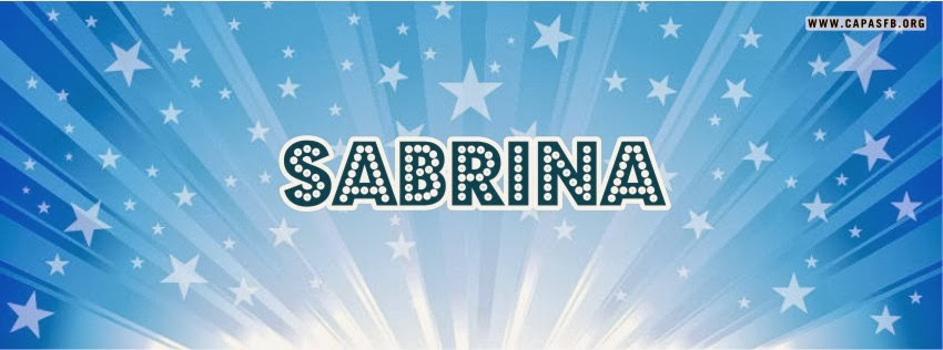 Capas para Facebook Sabrina