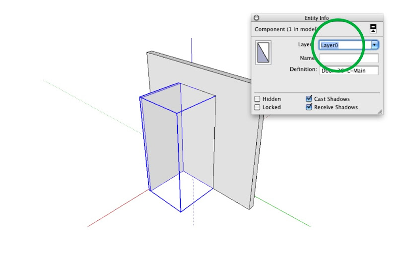 Make sure the Main Door component (which includes both sub-components) is on LayerO. If you\u0027re really advanced I suppose you could even have a layer ...  sc 1 st  SketchUp Blog & Making doors look right in different ortho views | SketchUp Blog