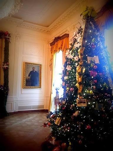 White House Christmas - in the East room. #WHHolidays #WHTravelBloggers