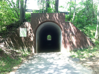 Raleigh 8000 Course Photo the tunnel