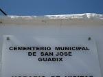 Acto de Homenaje en el cementerio de Guadix, 14-04-13