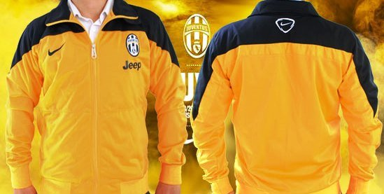 Jual Jaket Training Juventus Warna Kuning