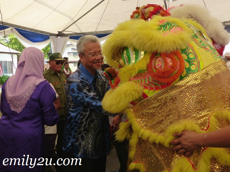 Second Finance Minister YB Dato' Seri Ahmad Husni - Hari Raya Open House