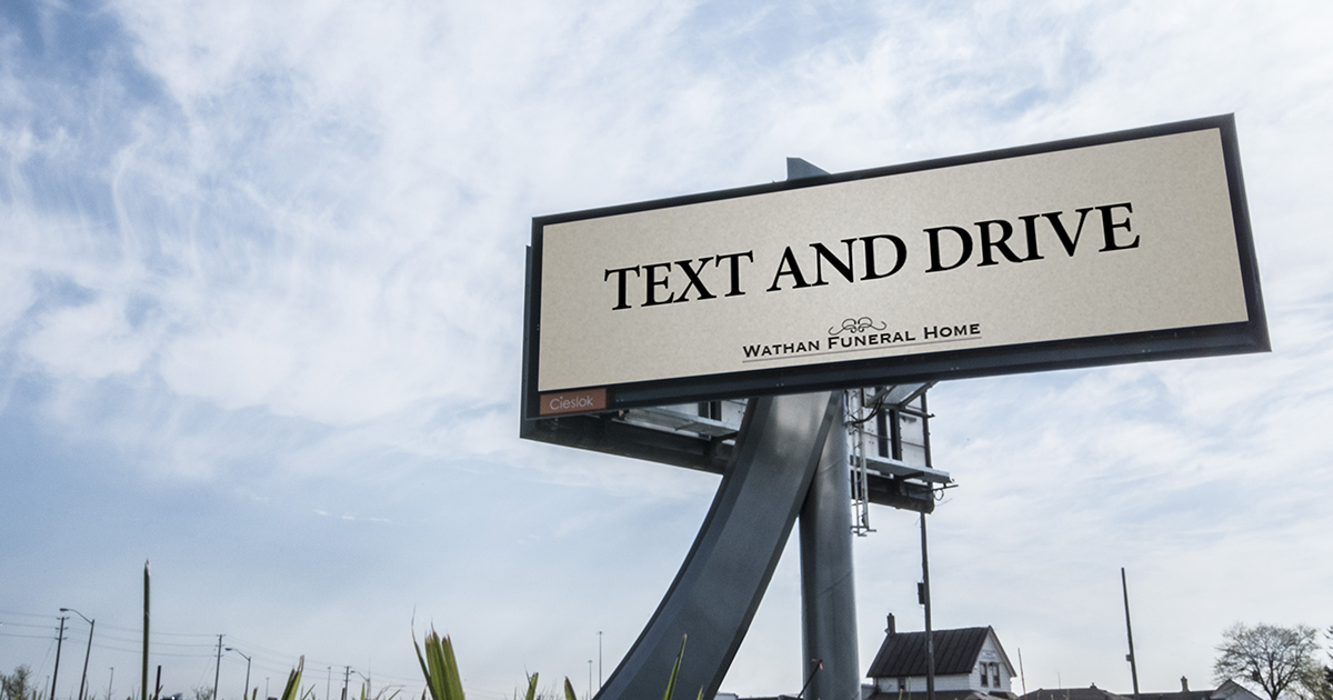 Montreal's John St and the Fake Wathan Funeral Home Billboard Stir Up A Frenzy of Anger in Toronto