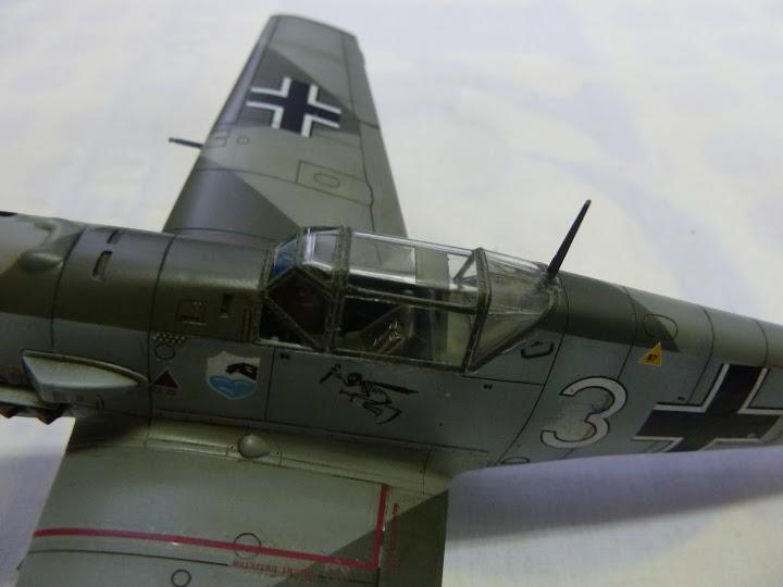 Bf-109 E-3 Tamiya 1/48 - Reforma pintura P1020653