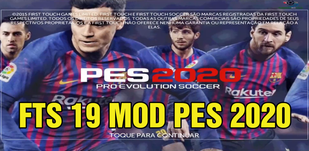 Best Mod 2020 FTS 19 MOD PES 2020 Android Offline 300MB Best Graphics New Update