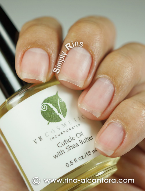 VB Cosmetics Cuticle Oil with Shea Butter