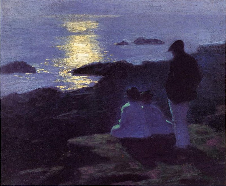 Edward Henry Potthast - A Summer's Night