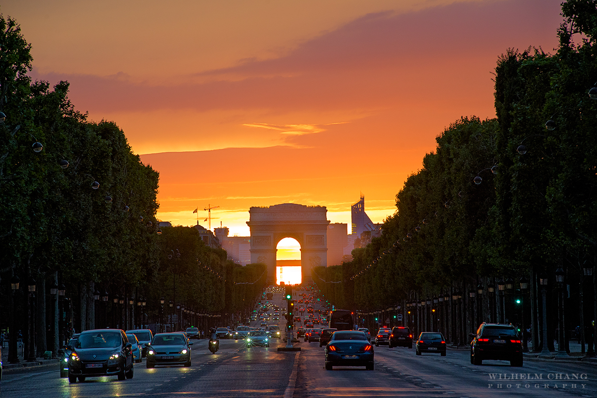 到巴黎攝影 凱旋門 Arc de Triomphe