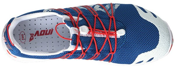 Inov-8 Bare-X Lite 150 in blue/red/white