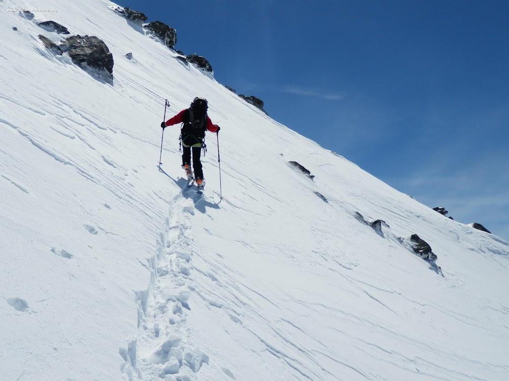 Avalanche Vanoise, secteur Aiguille de Polset, Glacier de Polset, traversée depuis les pistes de Val Thorens - Photo 1 - © André Luc