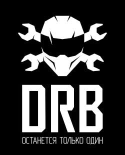 Arena Derby логотип вертикальный на черном фоне