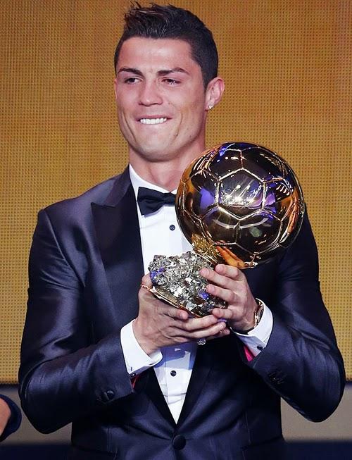 Một năm tràn ngập phần thưởng của Cristiano Ronaldo