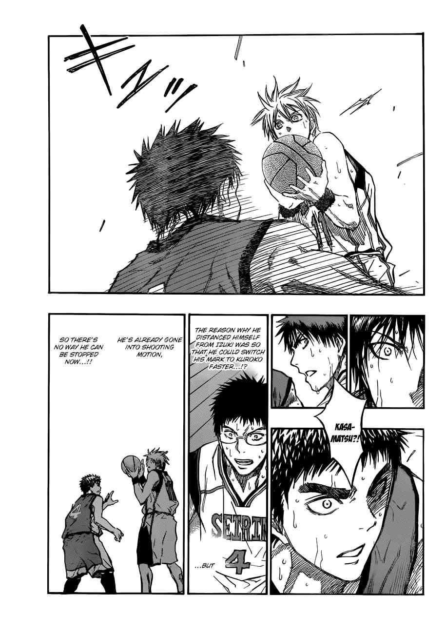 Kuroko no Basket Manga Chapter 191 - Image 09