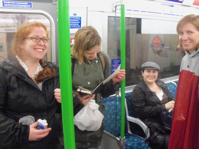 Wet folks on the district line