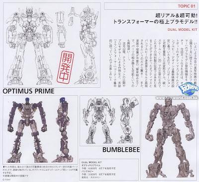 Takara Tomy Duel Model Kit Preview 1