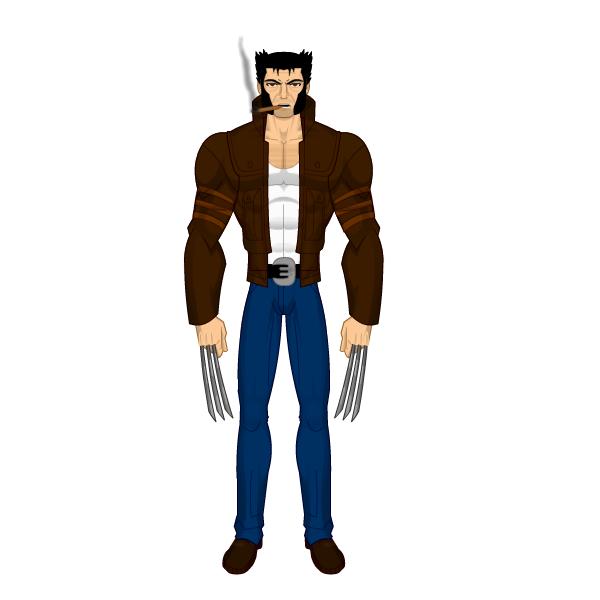 Criações Livres Carcara+or+Carcaju+-+Wolverine+-+Logan