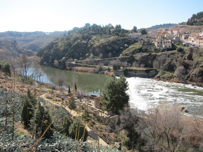 scenic view from Puente de San Martin