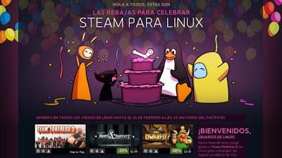 Steam para Linux llega al Centro de software de Ubuntu, ofertas incluidas