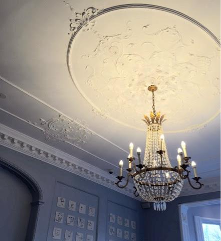 Royal York YHA Brighton, dining room ceiling