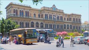 Ferien in Sizilien - Der Hauptbahnhof von Palermo - Stazione Centrale