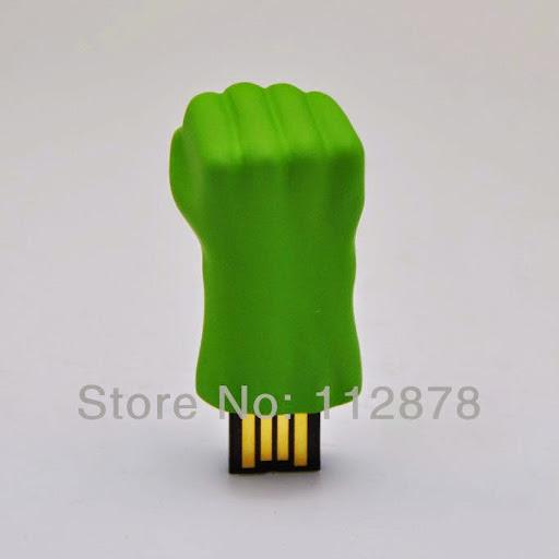 Ub363 WholeHot Fashion The incredible hulk 4GB 8GB 16GB