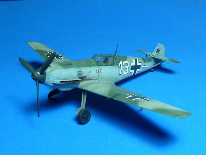 "Messerschmmit Bf 109 E-3 - Major Hans ""Assi"" Hahn P1040039"