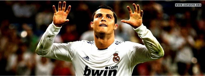Capas para Facebook Cristiano Ronaldo