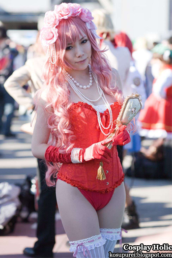 voclaoid 2 cosplay - megurine luka 14 from comiket 81